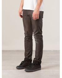 Kohzo - Black Straight Leg Trousers for Men - Lyst