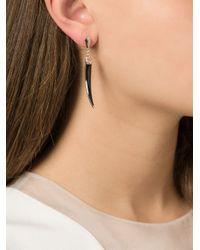 Shaun Leane - Black 'knife Edge' Earrings - Lyst