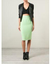 Guy Laroche - Green Classic Pencil Skirt - Lyst