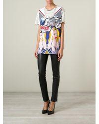 Philipp Plein - Multicolor 'get Up' T-shirt - Lyst