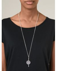 Bjorg - Metallic 'smoke And Mirrors' Necklace - Lyst