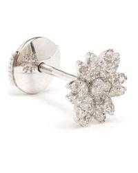 Yvonne Léon | Metallic Yvonne Léon Diamond Flower Stud Earring | Lyst