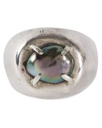 Henson | Metallic King Ring | Lyst
