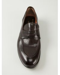 Henderson - Black Classic Penny Loafers for Men - Lyst
