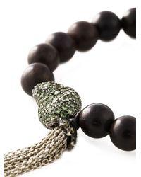 Loree Rodkin - Brown Diamond Beaded Bracelet - Lyst