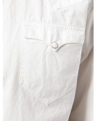 RRL - White Western Shirt for Men - Lyst