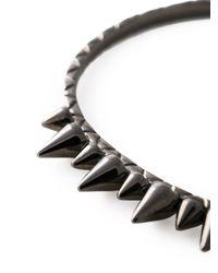 Joelle Jewellery - Metallic 'spike' Bangle - Lyst