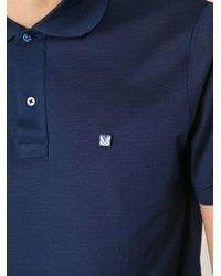 Fendi - Blue Bug Polo Shirt for Men - Lyst