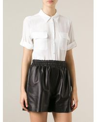 Equipment - White Slim Signature Shirt - Lyst