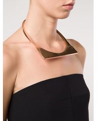 Miansai - Metallic Modern Flat Necklace - Lyst