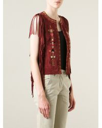 Isabel Marant - Embroidered Waistcoat - Lyst