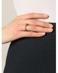 Puro Iosselliani   Black Garnet Skull Ring   Lyst