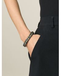 Aurelie Bidermann - Black 'copacabana' Bracelet - Lyst