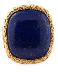 Aurelie Bidermann | Metallic 'miki Dora' Signet Ring | Lyst