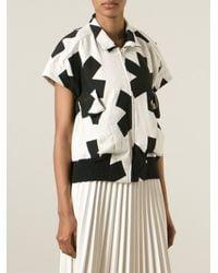 Vivienne Westwood Anglomania - Black Asterisk Print Jacket - Lyst