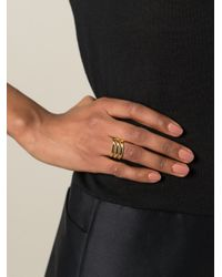 Maria Black - Metallic 'trinity' Ring - Lyst