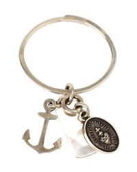 Werkstatt:münchen - Metallic Charm Key Ring - Lyst