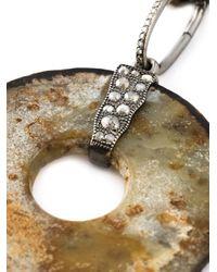 Loree Rodkin | Multicolor Diamond Stone Disc Lariat Necklace | Lyst