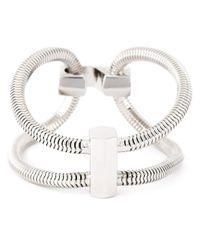 Lara Bohinc | Gray 'schumacher' Double Bracelet | Lyst