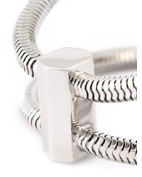 Lara Bohinc - Gray 'schumacher' Double Bracelet - Lyst