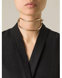 Lara Bohinc - Metallic 'schumacher' Choker Necklace - Lyst