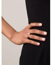 Nektar De Stagni - Black Pearl & Onyx Ring - Lyst