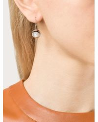 Eddie Borgo | Metallic Gemstone Cone Drop Earrings | Lyst