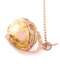 True Rocks - Metallic Small Globe Necklace - Lyst