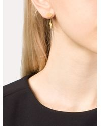 Marie-hélène De Taillac - Metallic 22kt Gold 'thunderstorm' Earrings - Lyst