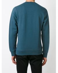 KENZO - Blue 'tiger' Sweatshirt for Men - Lyst