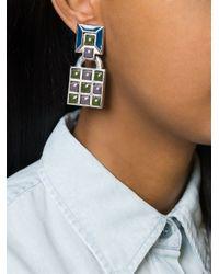 Jean Paul Gaultier - Black Gaudi Clip-on Earrings - Lyst
