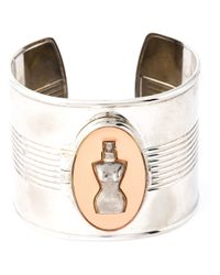Jean Paul Gaultier | Metallic Classic Perfume Cuff | Lyst