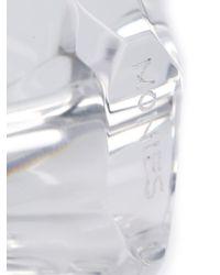 Monies - White Geometric Ring - Lyst