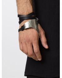 Y. Project - Black Wrap Hand Cuff - Lyst