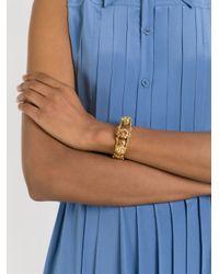 Alexander McQueen   Metallic Skeleton Bracelet   Lyst