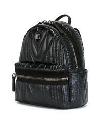 MCM - Black 'kissen' Backpack - Lyst