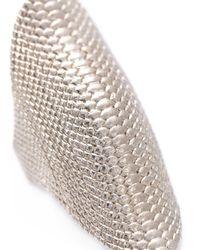 Venyx - Metallic 'conda' Ring - Lyst