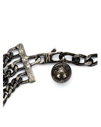 Lanvin - Black 'kristin' Necklace - Lyst