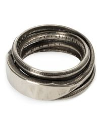 Werkstatt:münchen | Metallic Connected Rings | Lyst