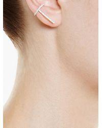 Asherali Knopfer - Metallic 'theo' Diamond Earring - Lyst
