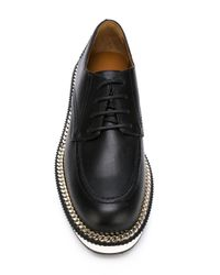 Givenchy - Black Platform Lace-up Shoes - Lyst