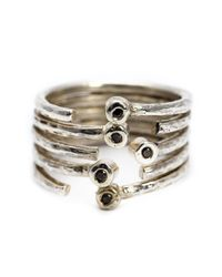 Henson | Metallic Multiband Ring | Lyst