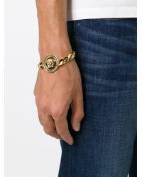 Versace   Metallic Medusa Bracelet   Lyst