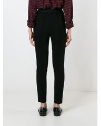 Étoile Isabel Marant - Black 'mock' Trousers - Lyst