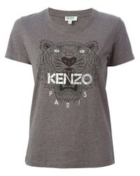 KENZO | Gray Vitkac Exclusive 'tiger' T-shirt | Lyst