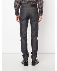 Givenchy - Blue Classic Straight Leg Jeans for Men - Lyst