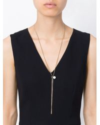 Maison Margiela | Metallic Earring Pendant Necklace | Lyst