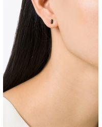 Selin Kent | Black 'sophia' Diamond Earring | Lyst