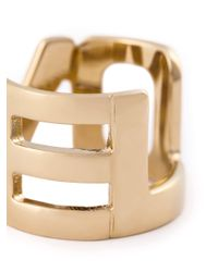 Givenchy - Metallic Love Ring - Lyst