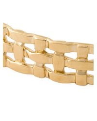 Aurelie Bidermann - Metallic 18kt Gold Plated 'marella' Bracelet - Lyst